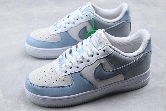 Nike Air Force 1 Premium Armory Blue/obsidian Mist Original