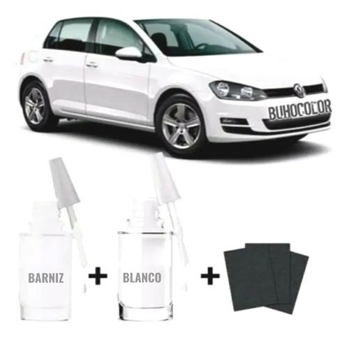 Imagen 1 de 7 de Tinta Rayones Retoque Fix Volkswagen Branco Puro