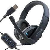 Fone Ouvido Headphone Gamer Pc Ps3 Ps4 Psp C Microfone Usb