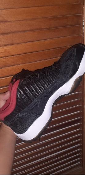 Jordan Retro 11 Ie Black Varsity Red, Como Nuevos.