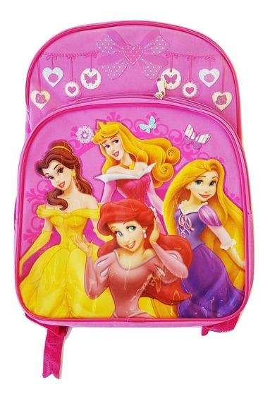Mochila Disney Princess Original Importada 41 Cmt. Reforzada