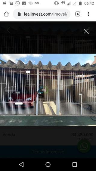 Casa De 2 Dormitórios E Edícula A Venda No Campo Limpo/ Vila