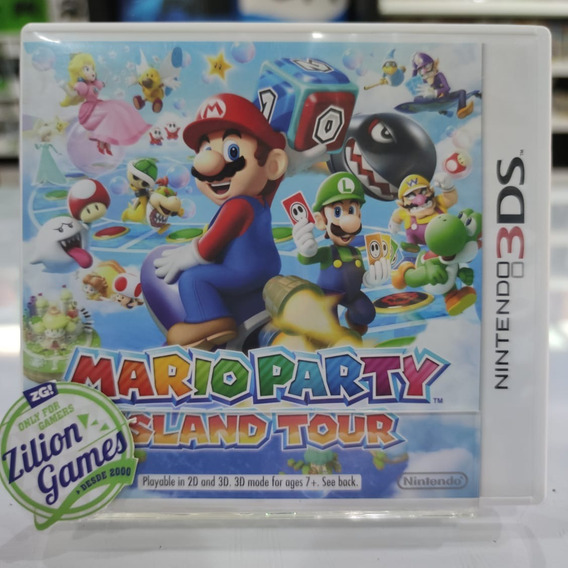 Mario Party Island Tour Nintendo 3ds - Completo