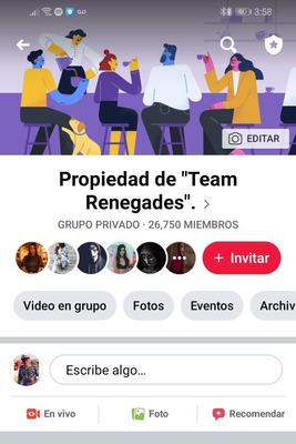 Grupo De Facebook Con Más De 26k Personas