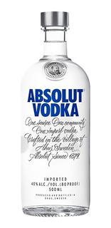 Vodka Absolut Azul Clasic 500ml 01almacen