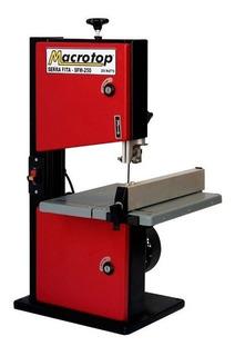 Máquina Serra Fita De Bancada Lynus 250w Macrotop Sfm-250