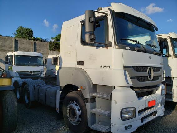 Mb 2544 Automático 2013 Único Dono = Scania Volvo 440