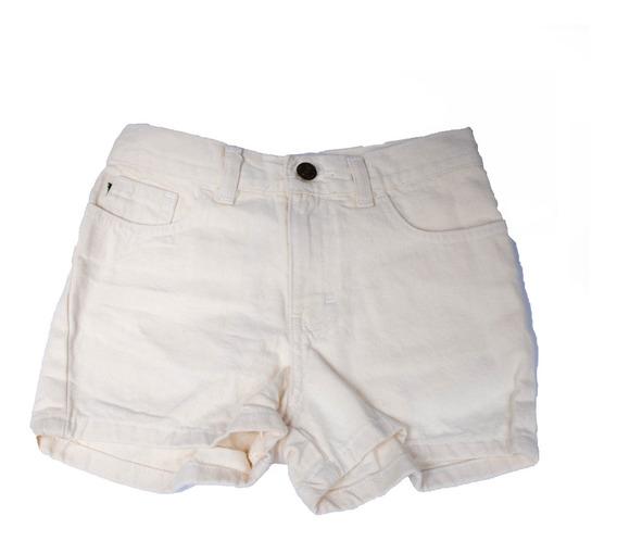 Paca 50 Piezas Niña Short Blanco Mezclilla Lotes Baratos