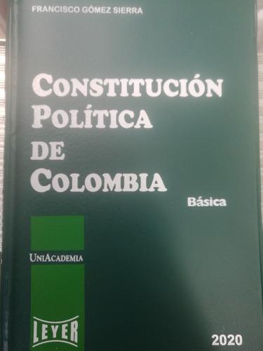 Imagen 1 de 1 de Constitución Política De Colombia Básica 2020