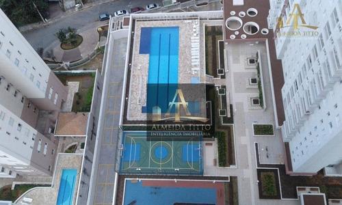 Imagem 1 de 16 de Apartamento Novo À Venda No Condomínio Essencialle Home Clube Em Barueri  70,26 M² Com 3 Dormitórios E 2 Vagas. - Ap3033