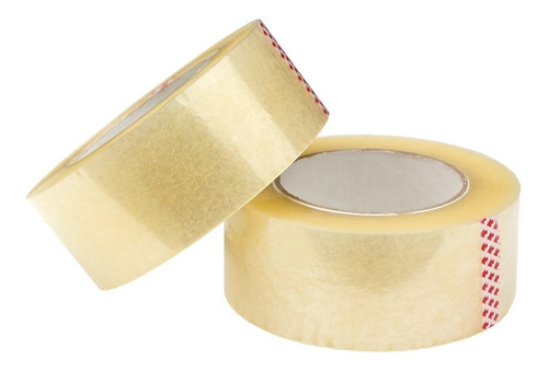 Cinta Adhesiva Para Empaque Ancha 48mm X 200 Yardas X Unidad | Mercado Libre