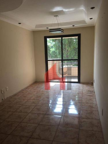 Apartamento À Venda, 61 M² Por R$ 380.000,00 - Vila Bertioga - São Paulo/sp - Ap0182