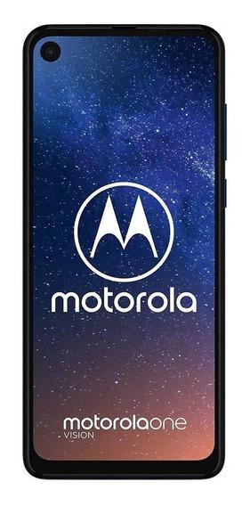 Celular Motorola One Vision Original Libre 128 Gb 4gb Ram