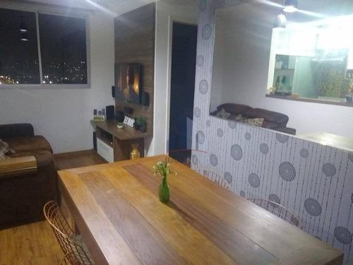 Apartamento Planejado Com 2 Dormitórios À Venda, 50 M² Por R$ 260.000 - Parque São Vicente - Mauá/sp - Ap1200