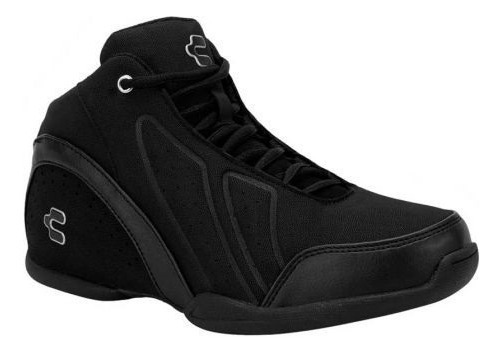 Tenis Basquetbol Hombre Charly 0131 Basketball Negros Bota