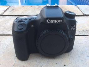 Cânon 70d + Lente 18-135mm Cartão Bateria Extra