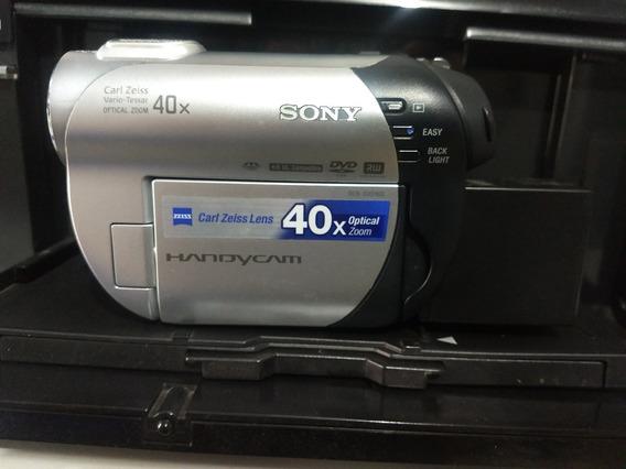 Filmadora Sony Handycam Dcr-dvd 108 Com Todos Acessórios + Bateria 10x Maior + Bolsa + Caixa Original + Manual + Cabos