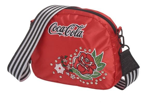Bolsa Transversal Coca Cola Vintage Rose - 7118723 - Pacific