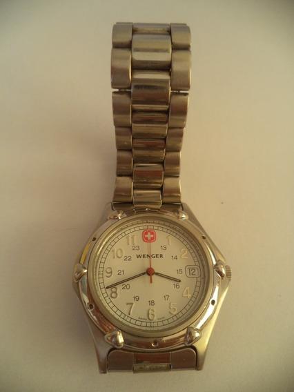 Relógio De Pulso Marca Wenger - Swiss Military (branco)