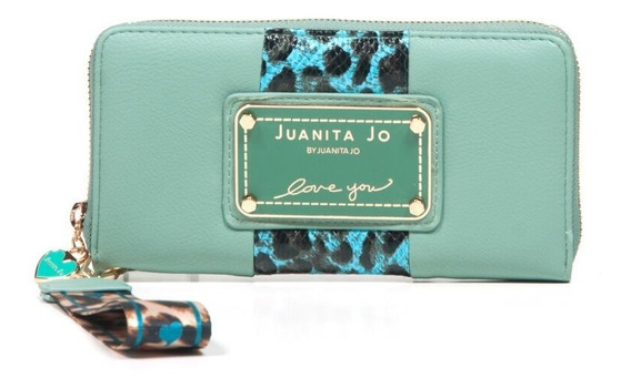 Billetera Juanita Jo Outside ( Menta - 30053 )