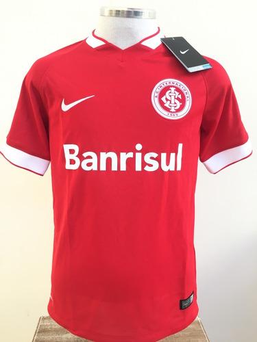 Camisa Camiseta Internacional Inter Infantil Nike Original M
