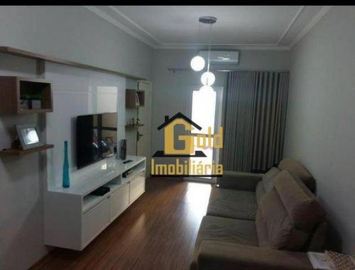 Casa Com 2 Dormitórios Para Venda, 105 M² Por R$ 230.000,00/ - Jardim Ouro Branco - Ribeirão Preto/sp - Ca0828