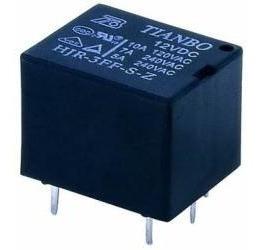 10x Rele 12v - 01 Contato - 10a