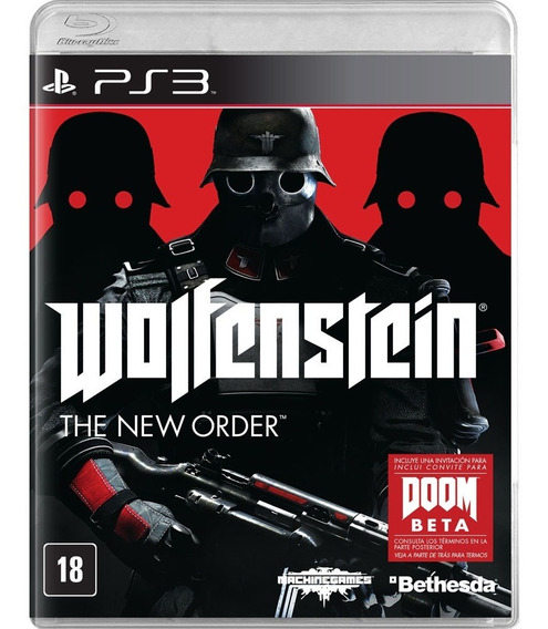 Wolfenstein The New Order (mídia Física) - Ps3 (novo)