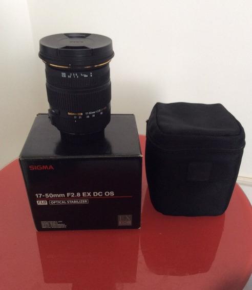 Lente Sigma 17-50mm 2.8