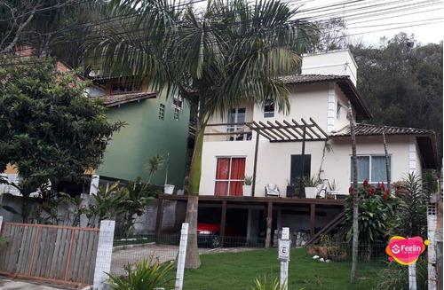 Imagem 1 de 22 de Casa À Venda, 110 M² Por R$ 720.000,00 - Rio Tavares - Florianópolis/sc - Sc - Ca0074_feelin
