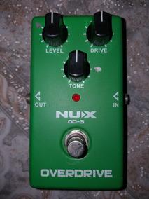 Caixa Cubo P/ Guitarra Amplificada + Pedal Overdrive Nuxod-3