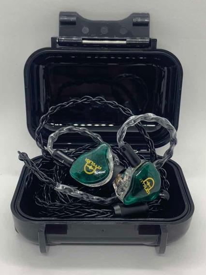 Fones Amplier X2 Edição Especial Verde