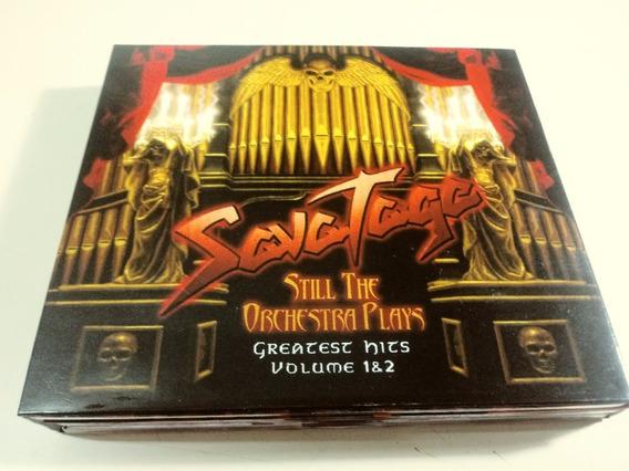 Savatage - Still The Orchestra Plays - 2 Cds + Dvd , Brasil