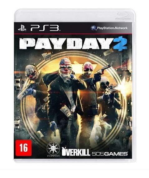 Payday 2 - Ps3 - Novo - Mídia Física - Lacrado