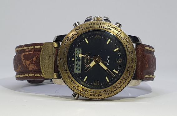 Relógio Camel Trophy Digital E Analógico Original Novo