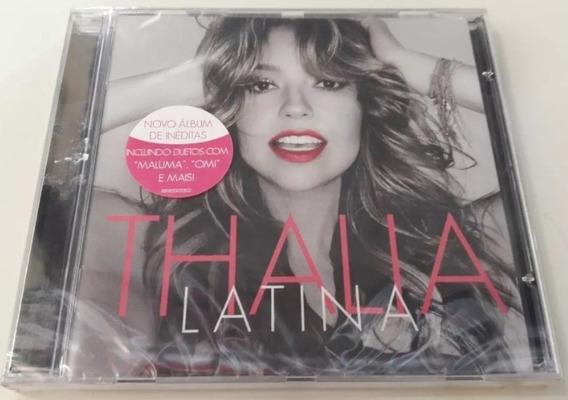 Thalia - Latina Cd Lacrado Fabrica Dance House Eletronico