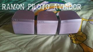 3 Bocinas Jvc Original