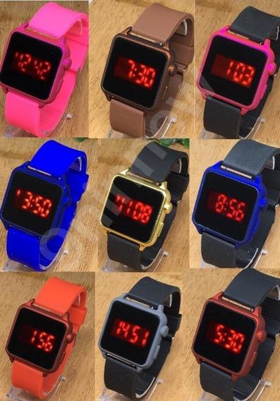 Relógio Digital Led Esportivo Feminino Barato