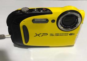 Câmera Fujifilm Finepix Xp80 Prova Dágua Waterproof