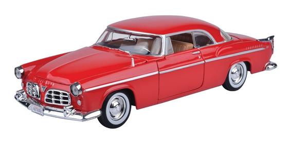 Auto Chrysler C300 1955 Escala 1/24 Colección Motormax