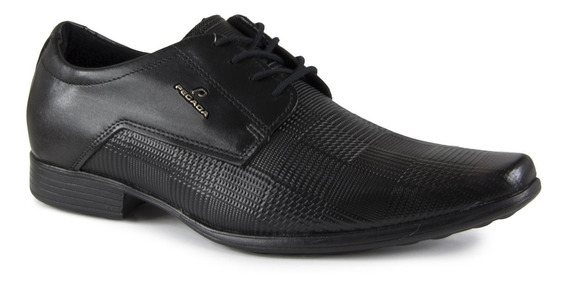 Sapato Masculino Pegada 122864-01 Cadarço Couro