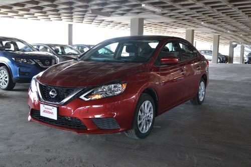 Imagen 1 de 13 de Nissan Sentra Rojo