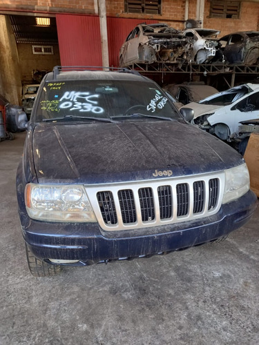 Imagem 1 de 6 de Sucata Jeep Grand Cherokee V8 99 Para Vendas De Peças