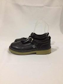 Zapato Escolar Marca Colloky De Cuero N*34 Negro