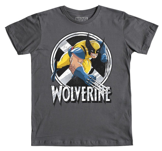 Playera Mascara De Latex Wolverine X-men