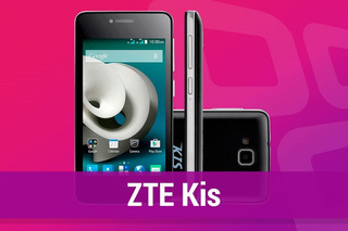 Celular Zte Kis C341 Whatapp Facebook 3g 5mp Garantia+nota
