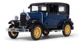 Ford Model A Tudor 1931 Sunstar 1:18 Azul Sun-6104