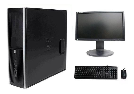 Computador Hp Elite 8200 I7 8gb 120ssd Monitor 18 Polegadas