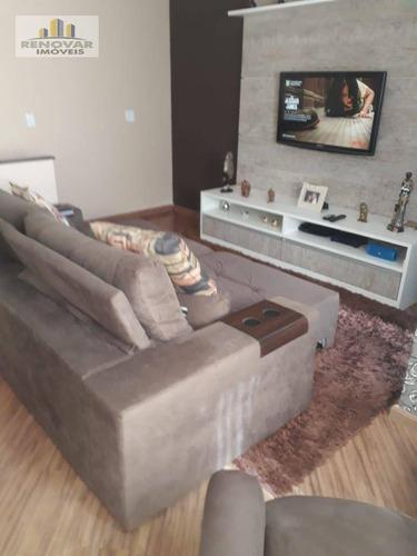 Imagem 1 de 22 de Cobertura Com 3 Dormitórios À Venda, 198 M² Por R$ 550.000,00 - Vila Mogilar - Mogi Das Cruzes/sp - Co0014