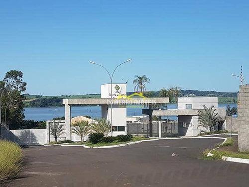 Imagem 1 de 8 de Terreno À Venda, 600 M² Por R$ 320.000,00 - Residencial Jardim Barra Do Cisne I - Americana/sp - Te0444